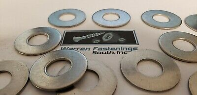"3/4"" Flat Washers 18-8 Stainless Steel"