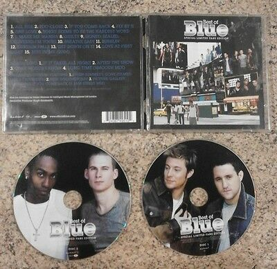 Blue - The Best Of Blue - Original UK Issue CD - Limited Edition 2 Disc Set