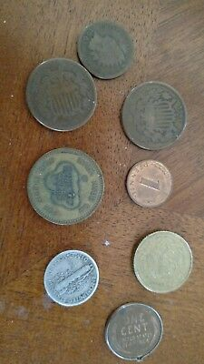 very very old coins