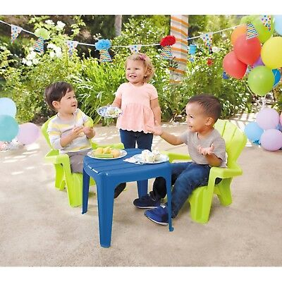 Kids Table and Chairs Play Set Toddler Child Activity Furniture In-Outdoor