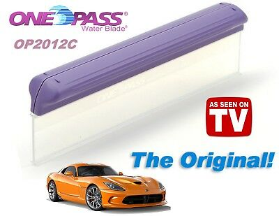 The Original, One Pass® Water Blade®, 12 Inch T-Bar Blade for Home-Auto-RV-Plane