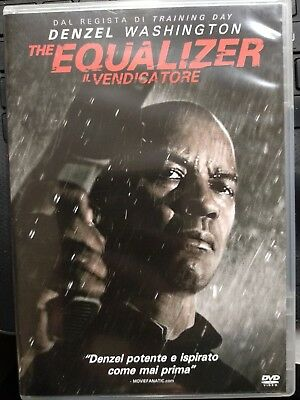 DVD THE EQUALIZER Il vendicatore