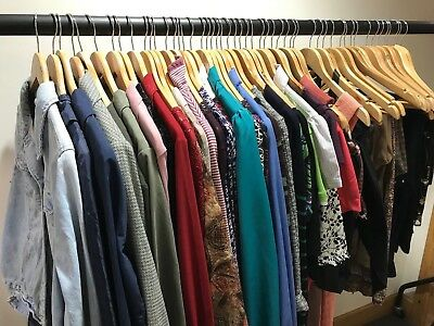 Job Lot JOBLOT Wholesale 50 Mixed Womens Clothing RESELL CARBOOT MARKET TRADER