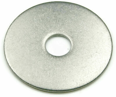 """3/8"""" X 2"""" 18-8 Stainless Steel Fender Washers"""