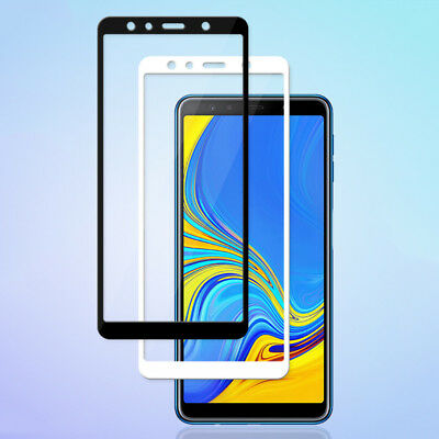 Full Covered Tempered Glass Screen Protector Film For Samsung Galaxy A7 2018 Lot