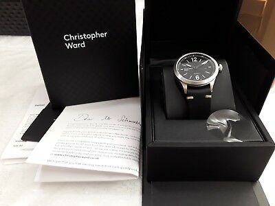 NEW Christopher Ward C8 Flyer Automatic Watch 44mm SAVE £210 off RRP 5yr G'tee