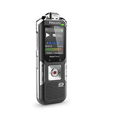 Philips DVT6010 Digital VoiceTracer Audio Recorder, Distance recorder, 8GB, colo