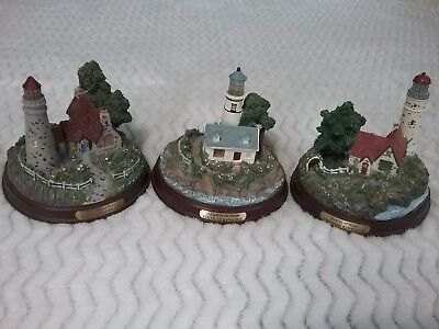 Lighthouse 3 Thomas Kinkade Seaside Memories Lighted Lighthouse collection