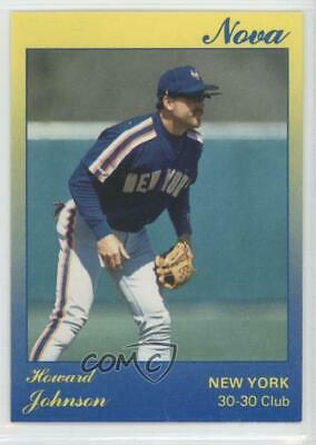 1991 Star Nova500 124 Howard Johnson New York Mets