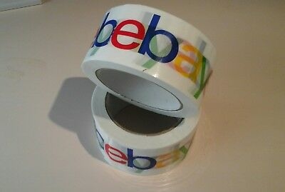 New! - Official 3X eBay Branded BOPP Packaging Tape 2 Mil - Shipping Supplies