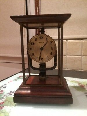 Vintage Bulle Electric Clock For Spares Or Repair