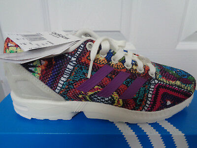 big sale f2b43 f36dc Adidas ZX Flux womens trainers shoes S76593 uk 5.5 eu 38 2 3 us 7