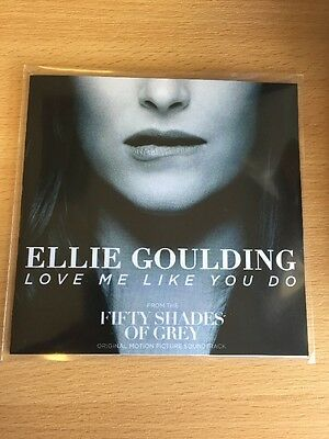"""Ellie Goulding """"LOVE ME LIKE YOU DO"""" 2 Trk Cd Promo - Fifty Shades Of Grey"""