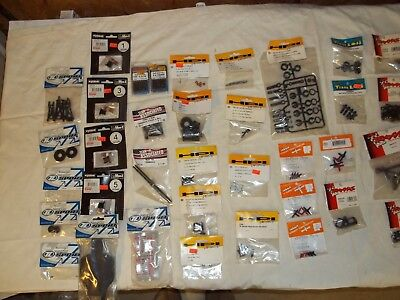Lot of NOS RC Remote Control Car Truck Parts Components Duratrax HPI Kyosho +++