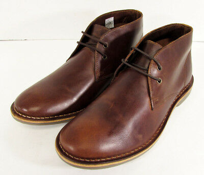 c90dbf9fd1ef3 $70 Franco Fortini Mens Dade Leather Chukka Boot Shoes, Brown, US 9.5