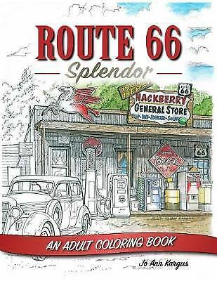 Route 66: An Adult Coloring Book by Jo Ann Kargus (Paperback / softback, 2017)