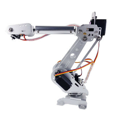 NEW 6-DOF Mechanical Arm Robot Claw with Servos for Robotics Arduino DIY KIT