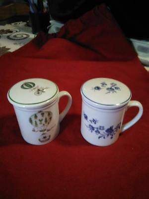 2 Tasses A The En Porcelaine