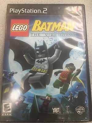 Sony Playstation 2 Ps2 Lego Batman The Videogame Game Disc Only