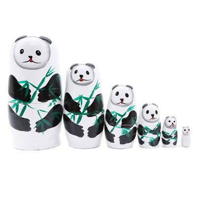 Russian Matryoshka Doll Nesting Dolls Toys Kids Gift With Cute Animal Design F