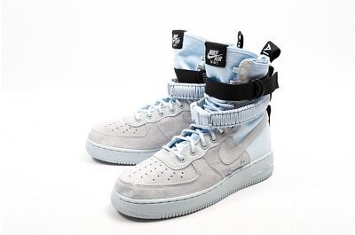 2018 NIKE SF AF1 Air Force 1 High SZ 12 Blue Tint Special ...