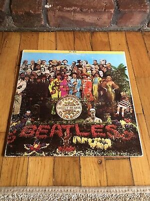 The Beatles - Sgt Peppers Lonely Hearts Club Band Apple Original