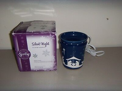 Full Size Scentsy Fragrance Warmer Riviera Scroll Leaves Teal Island