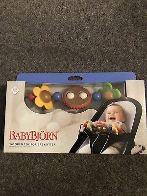 Baby Bjorn Wooden Toy Bar With Original Box