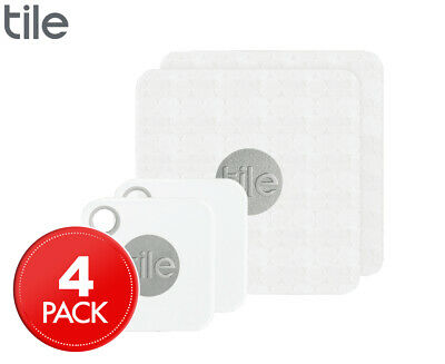 Tile Mate/Slim Combo Bluetooth Tracker 4-Pack - White