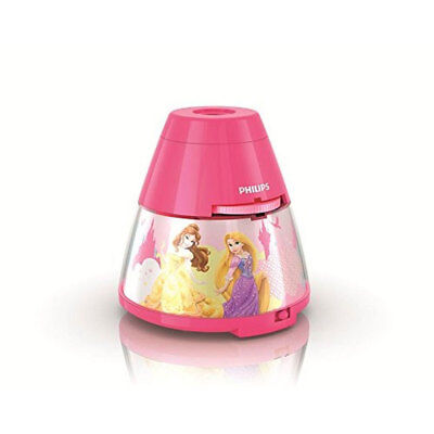 Philips Disney Princess 2 in 1 LED Children's Pink Night Light and Projector