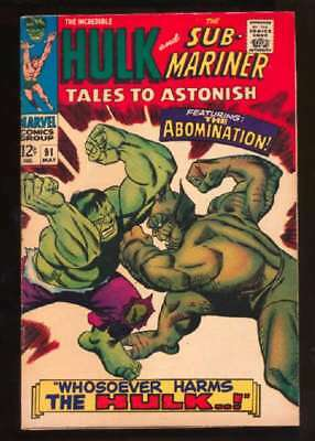 Tales to Astonish (1959 series) #91 in Fine condition. Marvel comics [*34]