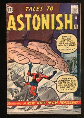 Tales to Astonish (1959 series) #36 in Very Good condition. Marvel comics [*jb]