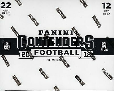 2018 Panini CONTENDERS Football NFL New 264c. Retail FAT PACK Box  IN STOCK!