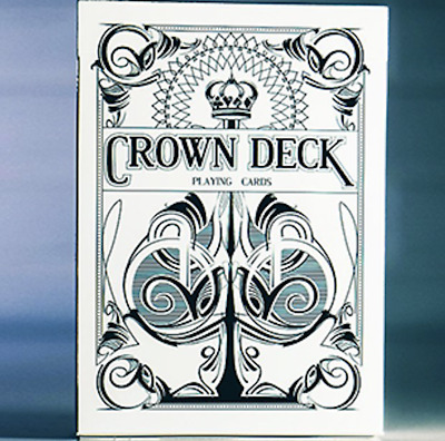 Limited Edition Crown Deck (Snow) by The Blue Crown - LIMITED