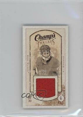 2009-10 Upper Deck Champ's Mini Threads Chris Osgood #MT-CO