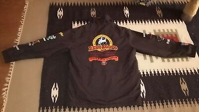 Reno Rodeo Western Trophy Jacket Coat Horse Contestant Sponsor,circle Y,s/42