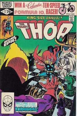 Thor (1966 series) Annual #9 in Fine condition. Marvel comics [*6h]