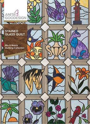 Stained Glass Quilt     Anita Goodesign           NEW
