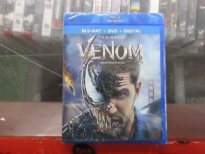 BRAND NEW Venom (Blu Ray + DVD + Digital) CHEAP