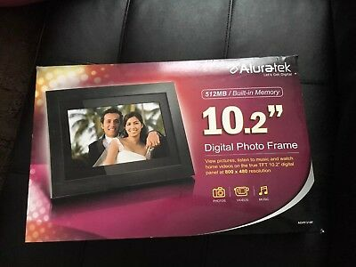 "Aluratek Admpf114f 14"" Digital Picture Frame"