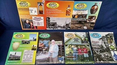 110 mags Antique Bottle & Collectors Magazine plus Old Bottle Magazine 1970-2014
