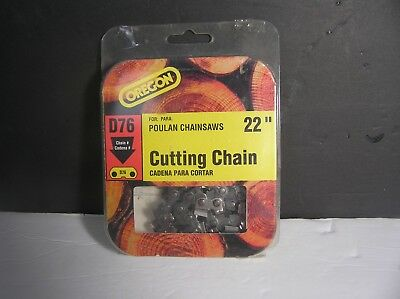 """Oregon 22"""" Saw Chain D76 for Poulan - NEW !!!"""