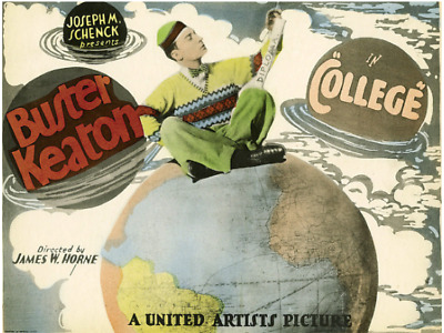 Standard 8mm Feature Film: COLLEGE (1927) Silent - BUSTER KEATON
