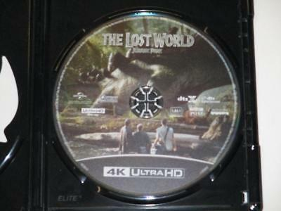 Jurassic Park: The Lost World (Blu-ray 4K UHD, 2018) 1-Disc Never Viewed NO CASE