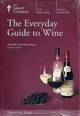 Great Course Guidebook: The Everyday Guide to Wine (2010, Paperback) NEW!