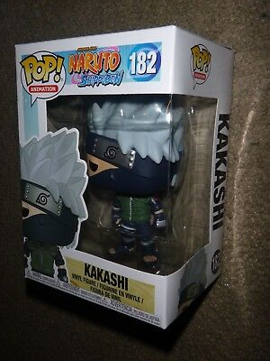 Funko POP! Animation, Naruto Shippuden, KAKASHI #182, Vinyl Figure, New, Toy