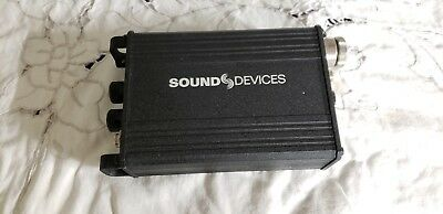 Preamp Sound Devices MM-1 - No power supply