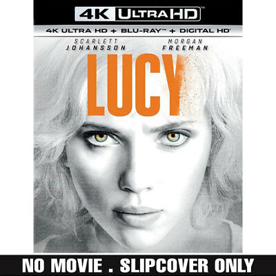 Lucy 4K SLIPCOVER Only (No Movie Discs No Code)