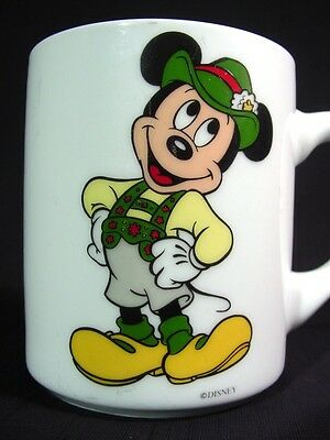 Disney Mickey Mouse Porcelain Coffee Mug Made in West Germany Reutter