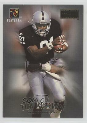 1997 NFL Players Party (Stay Cool in School) Tim Brown (Skybox Premium) Card